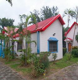 悠閒花園小木屋